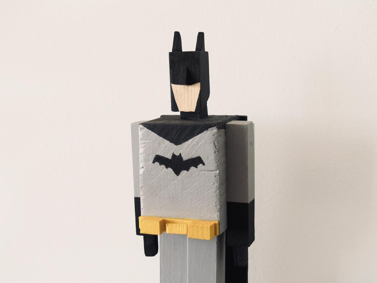 Batman de madera